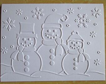 Snowmen Christmas Cards - Christmas Card Set - Holiday Cards - Boxed Christmas Card Sets - Holiday Card Set - Merry Christmas Card Sets