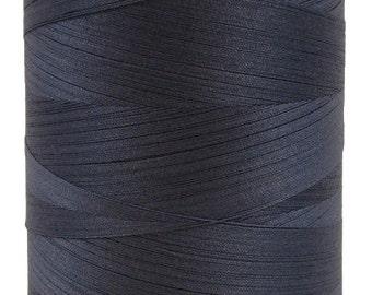 Organic Cotton Thread, 5,000 meters/spool, Multi-Purpose, GOTS Certified, Eco-Friendly Dye, Dusk Blue