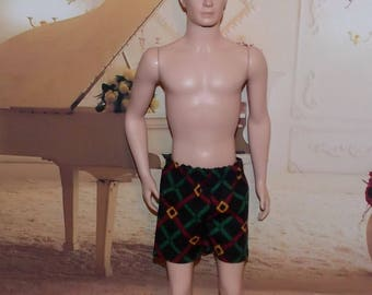 1:6 Scale Male Fashion Doll Clothes. Shorts.