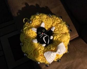 Cat Bell Wreath