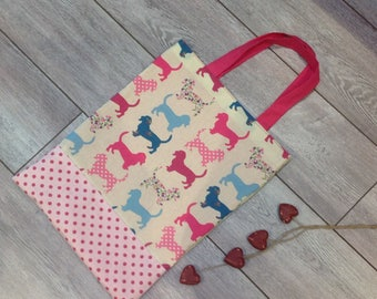 PROMO.      TOTE BAG-dog