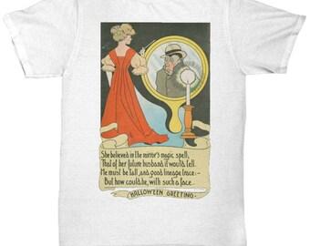Vintage Art T-shirt Halloween Card