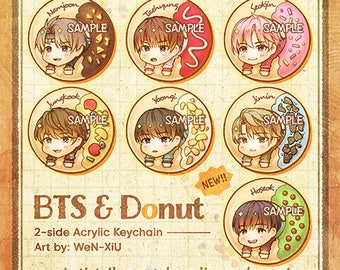 BTS - Bangtan Boys Donut Acyrlic Keychain