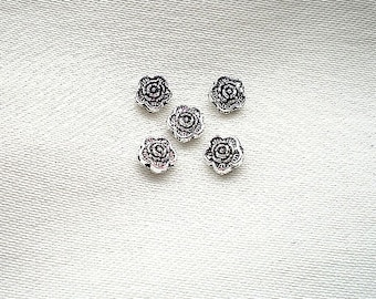 5 flowers 10mm beads