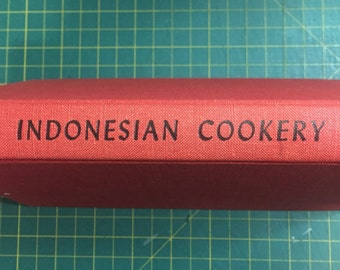 Indonesian Cookery Secret Stash! Upcycled book safe