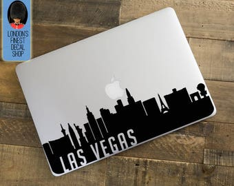 Las Vegas City Skyline Macbook / Laptop Decal