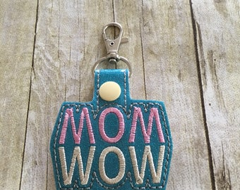 Number 1 mom, Gift for mom, Mom keychain, #1 mom, Mom key chain, Gift for her, Gift for women, Stocking stuffer, Mothers day gift, Mom wow