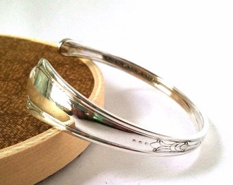 Spoon Cuff Bracelet, Size Medium