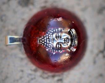 Resin Jewelry: Buddha Pendant