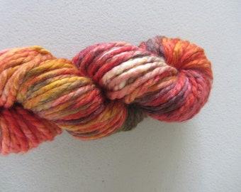 Ember.  Super Bulky handpainted merino yarn