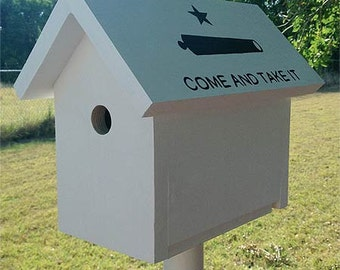 Come And Take It Birdhouse