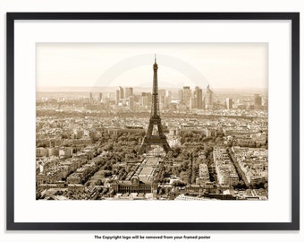 The Eiffel Tower Paris View - Classic Poster