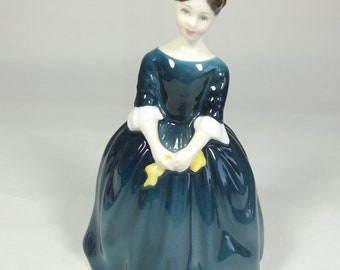 ROYAL DOULTON CHERIE Lady Figurine 1965 HN2341 good condition