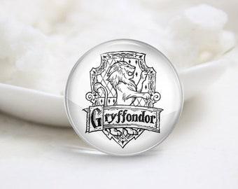 Handmade Round Harry Potter Photo glass Cabochons (P3905)