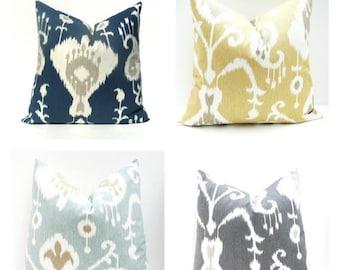 15% Off Sale Decorative Pillow covers, ikat pillow Pillows - Throw Pillow Covers - Pillow Shams - Throw Pillows - Pillow Covers - Gray Pillo