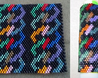 Rainbow Maze Lip Balm Cover