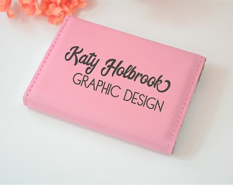 Business card case etsy personalized business card case custom business card holder engraved business card holder business colourmoves