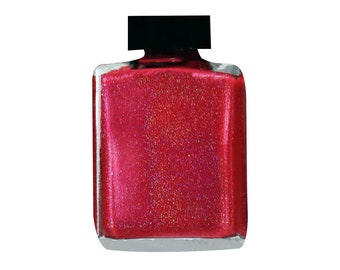 America Red Linear Holographic Nail Lacquer
