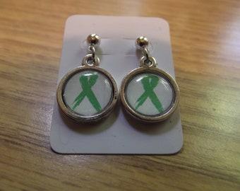 Ribbon Awareness Earrings-Choose studs or hooks