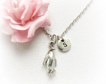 Penguin Necklace, Penguin Jewellery, Penguin Gift, Penguin Charm Jewelry, Kids jewellery, Personalised gift for mothers day, SPMCINPEN1
