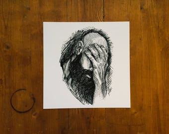 "Fine Art Print | ""Brother"" 