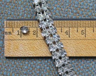 Vintage Rhinestone Supply, Vintage Rhinestone Jewelry Supply, Vintage Rhinestone Sewing Supply
