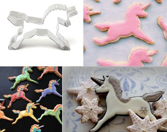Unicorn Cookie Cutter, Baking Decoration, Horse Biscuit Cutter, Cake Decorating, FREE WORLDWIDE SHIPPING!