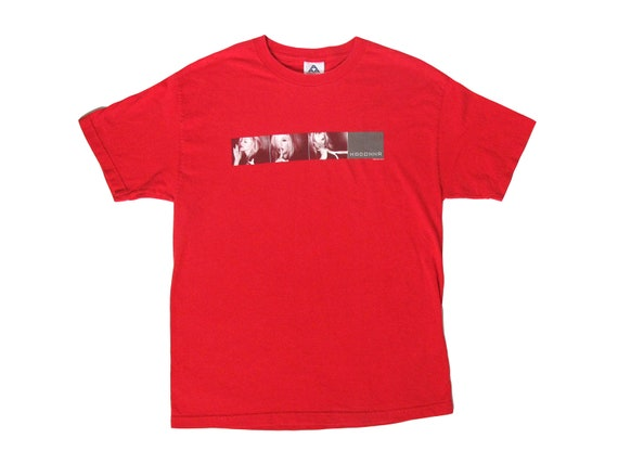 Madonna Drowned World Tour Red T-Shirt