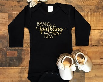 Brand Sparkling New / Baby Bodysuit / Baby Girl / Girls' Clothing / Baby Gift / Baby Shower / Newborn / Coming Home Outfit / New Baby
