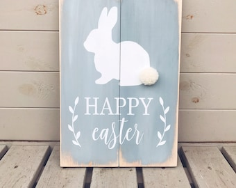 Happy Easter - Wooden Sign