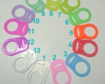 FREE SHIPPING 30pcs Silcione Ring MAM Adapter You Pick Colors