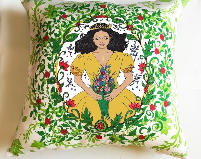 Sleeping Beauty decorative pillow- Option B