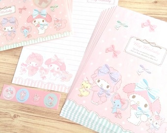 """Sanrio """"My Melody"""" letter writing set, letter set from Japan(B)"""