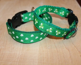 St. Patrick's Day Dog Collar