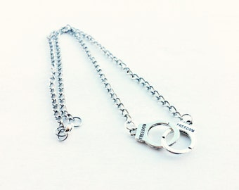 couple listing necklaces dog tag necklace and partner heart matching il