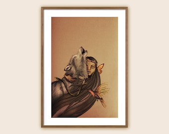 """Art Print: """"The Mother of Ten Thousand Things"""""""