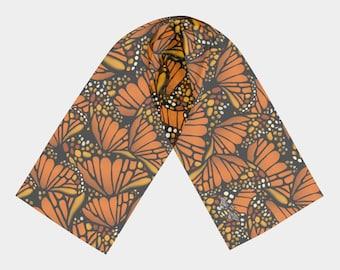Long Scarf- Monarch (2 Sizes)