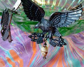 Vintage Eagle Necklace