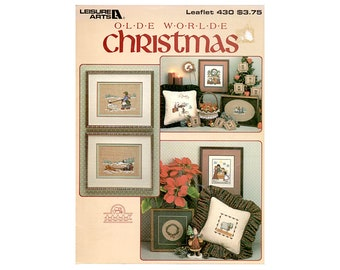 Olde World Christmas Cross Stitch Leaflet, Christmas Ornaments, Christmas Decorations, Christmas Patterns, Christmas Children Cross Stitch
