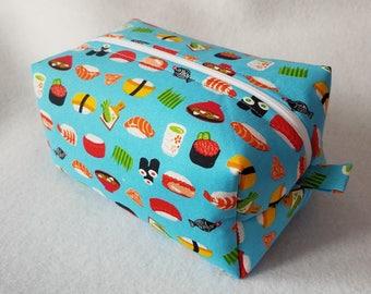 Sushi Box Zipper Pouch