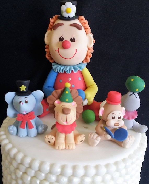 Circus Baby Shower Baby Decoration Boy Birthday Cake Carnival
