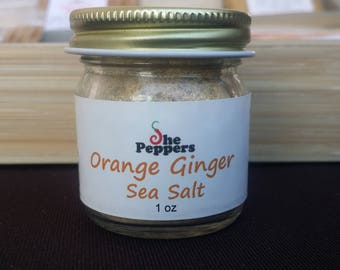 Orange Ginger Sea Salt