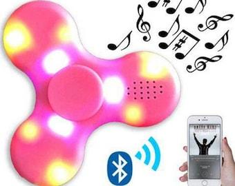 Light up Bluetooth spinner