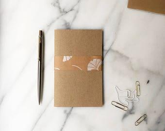 Mini kraft notebook
