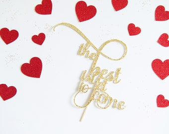 The best is Yet to Come Cake Topper Bridal Shower Decoration Baby Shower Gender Reveal Party for Wedding Same Sex Anniversary Engagement