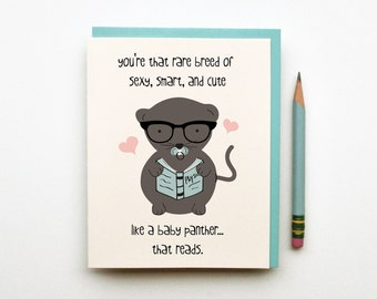 Rare Breed Love Card Silly Cute Funny Greeting For Boyfriend Girlfriend Husband Wife Anniversary