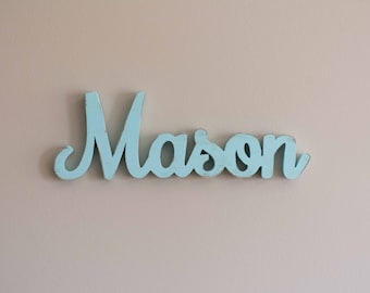 Wooden Nursery Baby Name Sign, Nursery Letters, Wood letters for nursery, custom name sign, nursery decor, wood name display