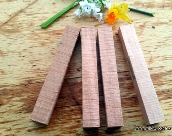 Tasmanian Myrtle Pen Blanks. lace bobbin blank