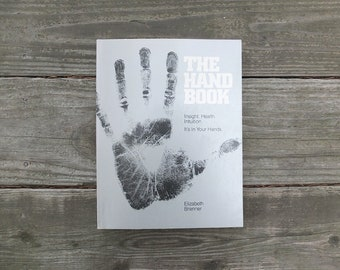Vintage 1980 The Hand Book / Palmistry Book / How To Read Your Palm Book / Palmistry Guide Book