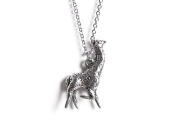 Giraffe Necklace - Animal Jewelry